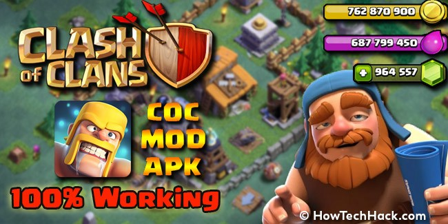 Clash of Clans MOD APK 2017 Download Android