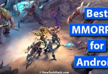 best mmorpg for android