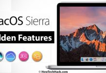 macOS Sierra Hidden Features