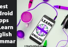 apps to learn english grammar